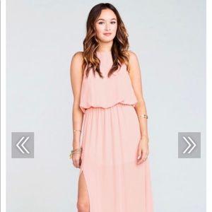 Heather Maxi Dress~Frosty Pink-L- ShowMeYourMuMu